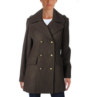 BCBGeneration Womens Pea Coat Winter Wool