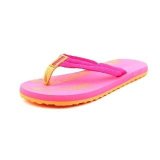 Puma Epic Flip Jr Open Toe Canvas Flip Flop Sandal