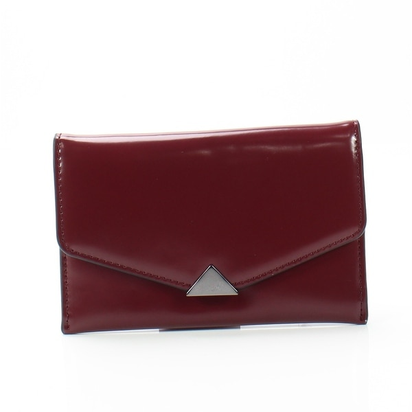 Vince Camuto Samba Red Women's Elwin Envelope Leather Wallet