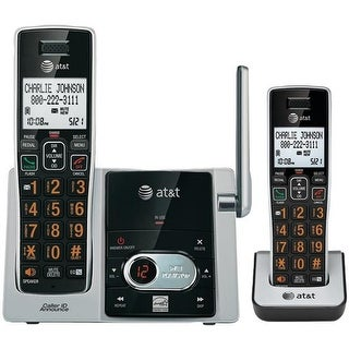 Cordless Answering System with Caller ID & Call Waiting 2-handset