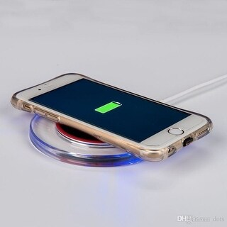 iPhone 8, 8 Plus, iPhone X Compatible Qi Wireless Charging Pad with LED lights