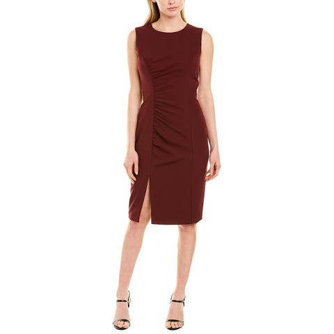 Milly Hera Ruched Sheath Dress