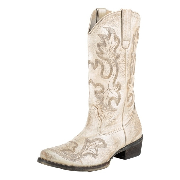 Roper Western Boot Womens Pearl Crackle All Over
