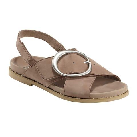 Earth Womens GROVE AMBROSIA Leather Open Toe Casual Slingback Sandals