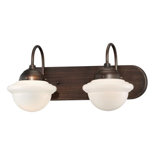 Millennium Lighting 5412 Neo-Industrial 2-Light Bathroom Vanity Light - N/A