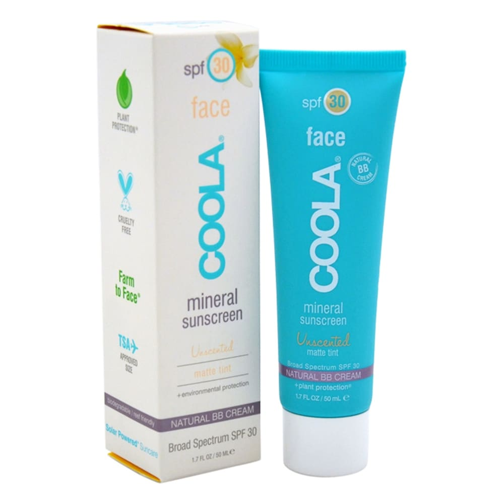 Mineral Face Sunscreen Matte Tint Spf 30 - Unscented By Coola For Unisex - 1 7 Oz Sunscreen (Body Sunscreen)