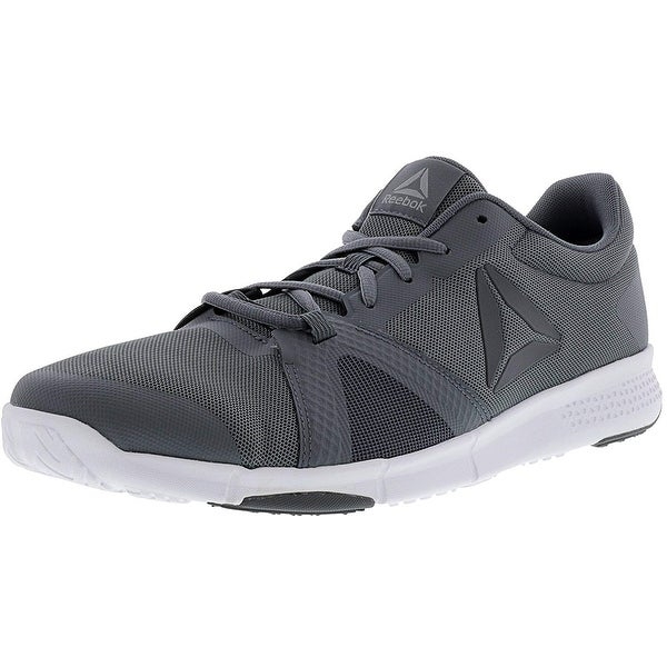 d91cc1976d94 Shop Reebok Flexile Mens Gray Mesh Athletic Lace up Training Shoes - Free  Shipping On Orders Over  45 - Overstock - 22722602