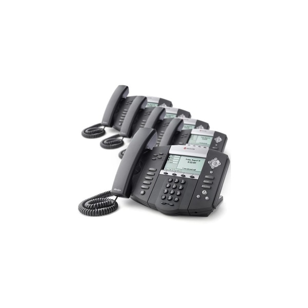 Polycom 2200-12560-025 (5 Pack) SoundPoint IP 560 4-Line IP Phone (POE)