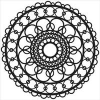 """Ring Doily - Crafter's Workshop Template 6""""X6"""""""