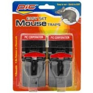 Pic PMT-2 Plastic Mouse Trap