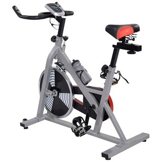 Costway Exercise Bike Cycling Indoor Health Fitness Bicycle Stationary Exercising