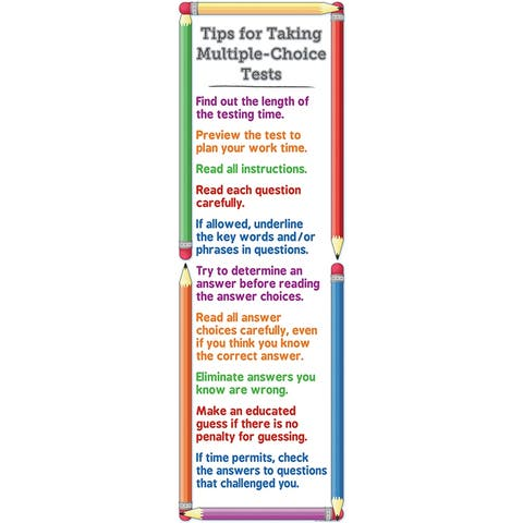 Tip For Taking Test Colossal Poster
