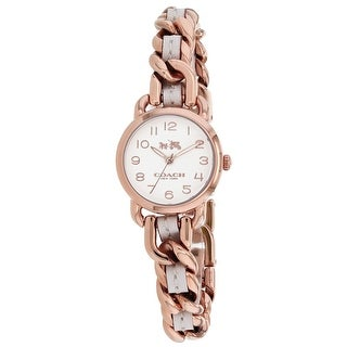 Coach Women's Delancey 14502726 White Dial watch