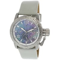 Invicta Women's Corduba  Silver Calf Skin Analog Quartz Fashion Watch