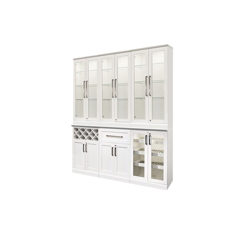 """NewAge Products Home Bar Series 72""""W x 25""""D 7 PC Shaker Style"""