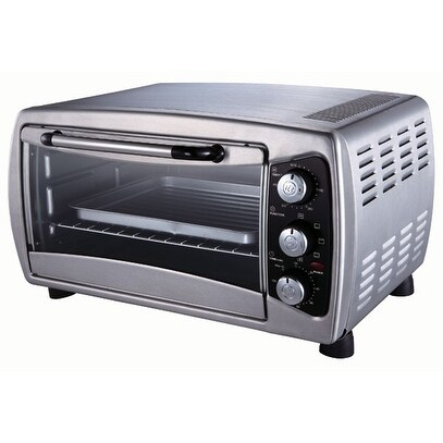 Sunpentown SO-1006 Stainless Countertop Convection Toaster Oven