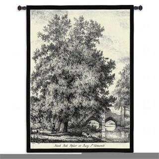 FineArtTapestries 2230-WH Black Poplar Wall Tapestry