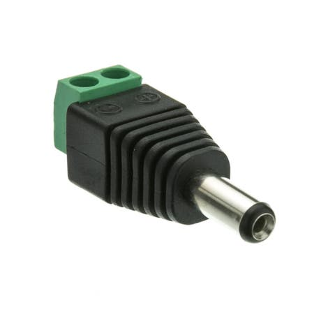 Offex DC Male Power Plug to 2 Pin Terminal (Screw Down) Adapter