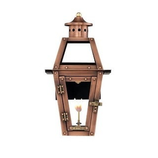 "Primo Lanterns OL-15G Orleans 13"" Wide Outdoor Wall-Mounted Lantern Natural Gas Configuration