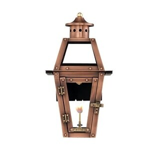 """Primo Lanterns OL-15G Orleans 13"""" Wide Outdoor Wall-Mounted Lantern Natural Gas Configuration"""