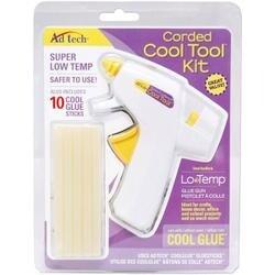 - Corded Cool Tool Kit W/10 Cool Glue Sticks