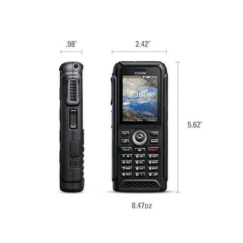 Kyocera DuraTR E4750 8GB Sprint T-Mobile AT&T Model Refurbished Black KYOE4750PTT Waterproof
