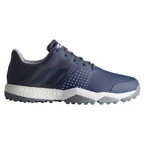 New Men's Adidas Adipower Sport Boost 3 Golf Shoes Trace Blue/Trace Blue/Silver Metallic F33582