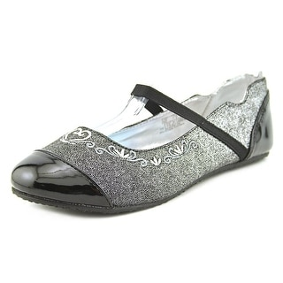 Stride Rite Arendelle Youth W Round Toe Patent Leather Flats