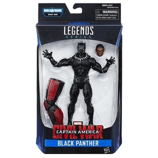 "Marvel Legends Captain America 6"" Action Figure Series: Black Panther"