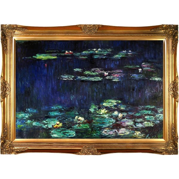 Claude Monet Water Lilies Green Reflections Right