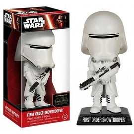 Funko Star Wars The Force Awakens First Order Snowtrooper Wacky Wobbler