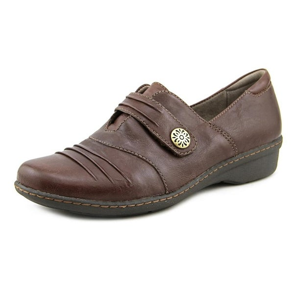 Naturalizer Response Women  Round Toe Leather Brown Loafer