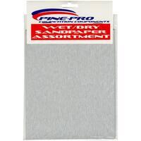 "Pine Car Derby Wet/Dry Sandpaper Assortment-4""X5.5"""