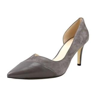 Cole Haan Josette Pump II Women  Pointed Toe Suede Gray Heels
