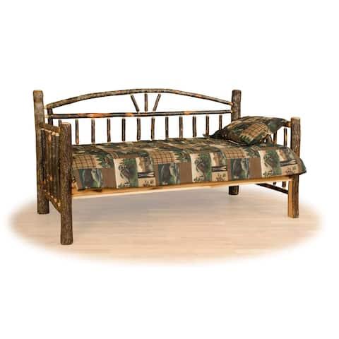 Hickory Log Day Bed Frame