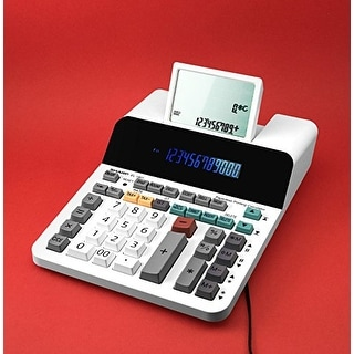 Sharp El-1901 Paperless Printing Calculator With Check And Correct, 12-Digit Lcd