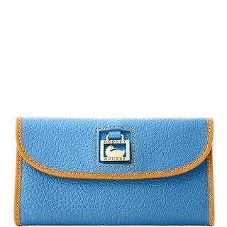Dooney & Bourke Dillen Continental Clutch (Introduced by Dooney & Bourke at $135 in Jan 2012) - Sky Blue