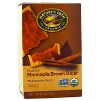 Nature's Path Organic Frosted Toaster Pastries - Mmmaple Brown Sugar - Case of 12 - 11 oz.