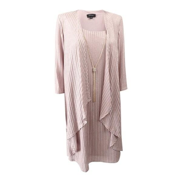 0768c76ec0d21 Shop R M Richards Women s Shift Dress and Draped Jacket (6