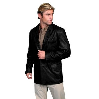 Scully Western Jacket Mens Lambskin Blazer Button Front Lined 511