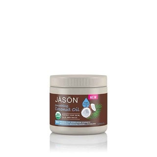 Jason Natural Products Coconut Oil, Organic, Virgin - 15 fl oz