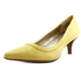 Bandolino Zadina 2 Women Pointed Toe Canvas Heels