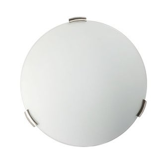 "DVI Lighting DVP1432 2 Light 12"" Wide Flush Mount from the Orinoco Collection"