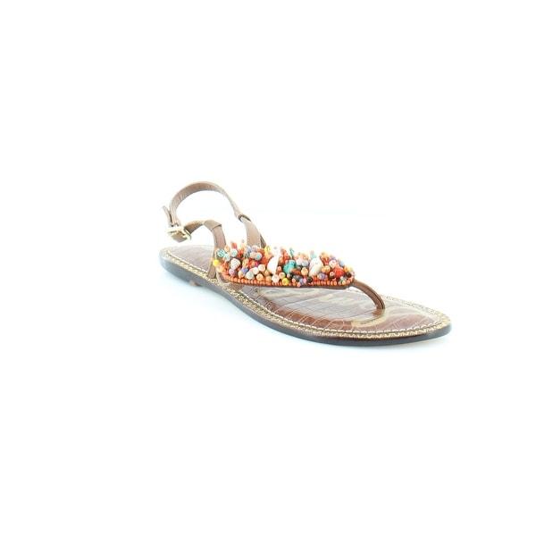 7e1ec09617d5 Shop Sam Edelman Gabrielle Women s Sandals   Flip Flops Orngmlt - 9 ...