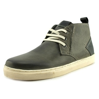 Steve Madden Forse Men  Round Toe Leather Gray Chukka Boot