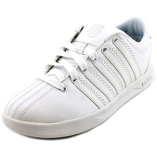 K-Swiss Court Pro Cmf Round Toe Leather Sneakers