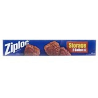Ziploc 01143 Food Storage Bags, 2 Gallon