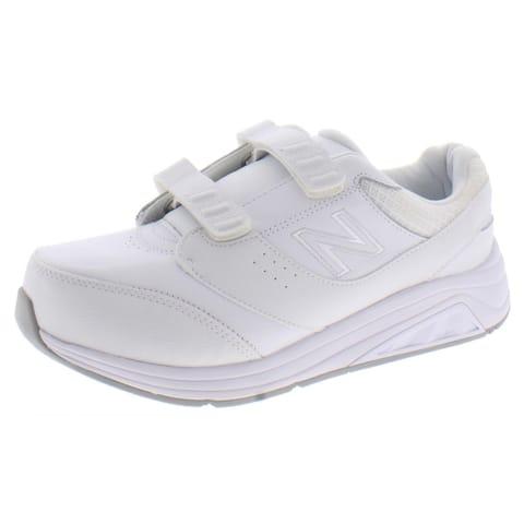 New Balance Womens 928v3 Walking Shoes ABZORB Athletic - White/White
