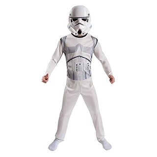 Star Wars Storm Trooper Child Costume - White