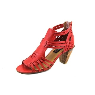 Everybody By BZ Moda Dre Open Toe Leather Sandals